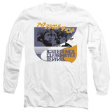 Creedence Clearwater Revival Around The Bend Kanji Long Sleeve 18/1 T-Shirt White