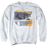 Creedence Clearwater Revival Around The Bend Kanji Crewneck Sweatshirt White