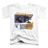 Creedence Clearwater Revival Around The Bend Kanji Toddler T-Shirt White