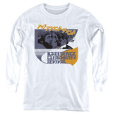 Creedence Clearwater Revival Around The Bend Kanji Youth Long Sleeve T-Shirt White