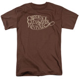 Creedence Clearwater Revival CCR Logo 18/1 T-Shirt Coffee