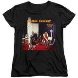 Creedence Clearwater Revival Cosmos Factory Album Women's T-Shirt Black