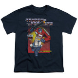 Transformers Optimus Prime Youth T-Shirt Navy