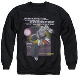 Transformers Megatron Adult Crewneck Sweatshirt Black