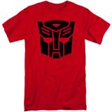 Transformers Autobot Junior Women's T-Shirt Red