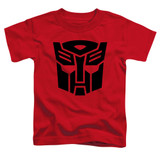 Transformers Autobot Toddler T-Shirt Red