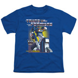 Transformers Soundwave Youth T-Shirt Royal Blue