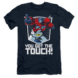 Transformers You Got The Touch Adult 30/1 T-Shirt Navy