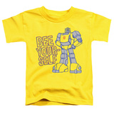 Transformers Bee Yourself Toddler T-Shirt Yellow