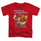 Transformers Hot Rod Toddler T-Shirt Red