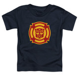 Transformers Rescue Bots Logo Toddler T-Shirt Navy