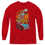 Transformers Heatwave Youth Long Sleeve T-Shirt Red