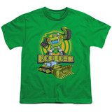 Transformers Boulder Youth T-Shirt Kelly Green