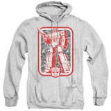 Transformers Autobot Adult Pullover Hoodie Sweatshirt Athletic Heather