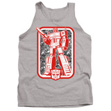 Transformers Autobot Adult Tank Top T-Shirt Athletic Heather