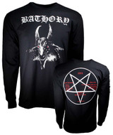 Bathory White Goat Long Sleeve Classic T-Shirt