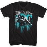 Motley Crue Just Go Away Black Adult T-Shirt