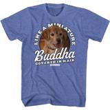 Anchorman Miniature Buddha Royal Heather Adult T-Shirt