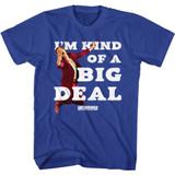 Anchorman Big Deal Royal Adult T-Shirt