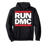 Run DMC Official Logo Pullover Hoodie Sweatshirt