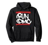 Run DMC Official Graffiti Logo Pullover Hoodie Sweatshirt