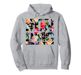 Run DMC Official Floral Logo Pullover Hoodie Sweatshirt
