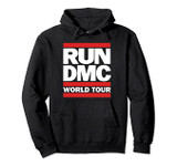 Run DMC Official World Tour Logo Pullover Hoodie Sweatshirt