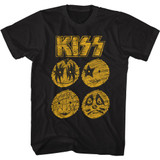 Kiss From NYC Black Adult T-Shirt