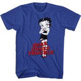 Betty Boop Your Kisses Royal Adult T-Shirt