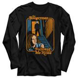 Halloween Boogeyman Followed Black Adult Long Sleeve T-Shirt