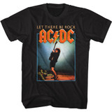 AC/DC Let There Be Rock Black Adult Classic T-Shirt
