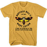 Silence of the Lambs Bill's Body Lotion Ginger Adult T-Shirt