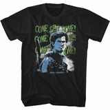Army of Darkness Come Get Some Black Adult T-Shirt