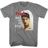 Old School Frank Graphite Heather Adult T-Shirt