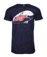 Led Zeppelin Blimp Logo Navy T-Shirt