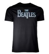 Beatles Distressed Vintage Logo Men's T-Shirt