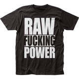 The Stooges Raw Power Fitted Jersey T-Shirt