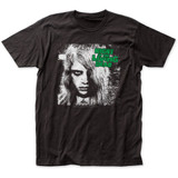Night of the Living Dead B and W Karen Fitted Jersey T-Shirt