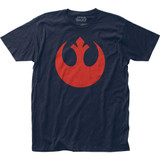 Star Wars Rebel Alliance Fitted Jersey T-Shirt