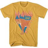 Def Leppard Half Leopard Ginger Adult T-Shirt