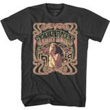 Janis Joplin Nouveau Style Smoke Adult T-Shirt
