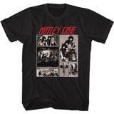 Motley Crue Motley Pics Black Adult T-Shirt