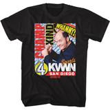Anchorman Champ Kind Dark Black Adult T-Shirt