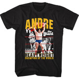 Andre The Giant Heavyweight Champ Black Adult Classic T-Shirt