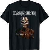 Iron Maiden Classic Book Of Souls T-Shirt
