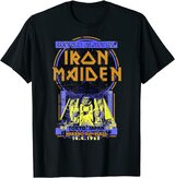 Iron Maiden Powerslave Japan Flyer T-Shirt