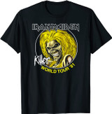 Iron Maiden Killers World Tour Revision T-Shirt