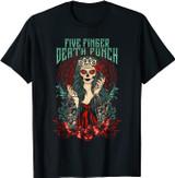 Five Finger Death Punch Lady Muerte T-Shirt