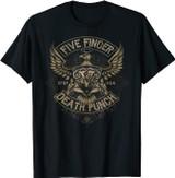 Five Finger Death Punch USA Eagle T-Shirt