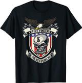 Five Finger Death Punch American Shield T-Shirt